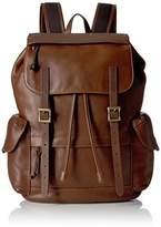 Fossil Defender Leather Rucksack Back pack