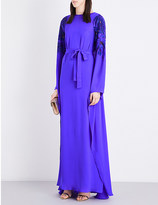 Emilio Pucci Sequin-embellished silk gown
