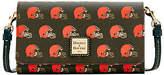 Dooney & Bourke NFL Cleveland Browns Daphne Crossbody Wallet Shoulder Bag