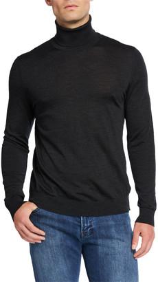 Kiton Men's Wool Turtleneck Sweater