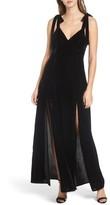 Privacy Please Women's Jupiter Velvet Maxi Dress