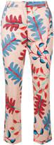 Marc Cain slim floral trousers