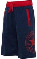 Converse Boys Woven Waistband Shorts Marled Navy