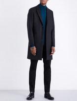 Paul Smith Epsom peak-lapel wool-blend coat