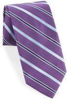 Breuer Diagonal Striped Silk Tie