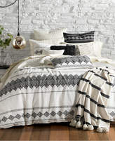 Lucky Brand Embroidered Ikat 3-Pc. King Comforter Set, Created for Macy's Bedding