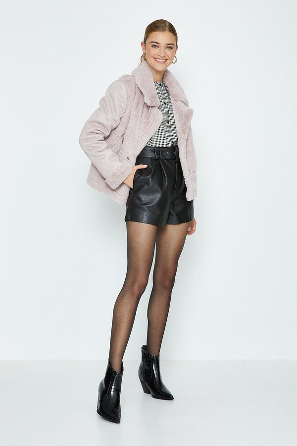 Thumbnail for your product : Coast Faux Fur Biker Coat