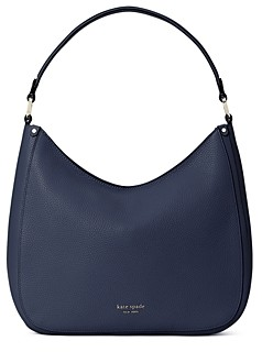 Kate Spade Roulette Large Pebbled Leather Hobo Bag