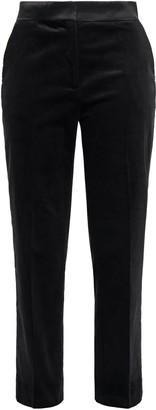 Dagmar House Of Cropped Cotton-blend Corduroy Straight-leg Pants