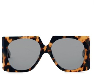 Karen Walker Return to Sender 56MM Leopard Square Sunglasses