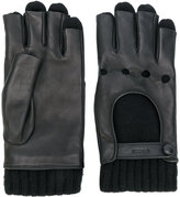 Gucci driving gloves - men - Lamb Skin/Cashmere - 8.5