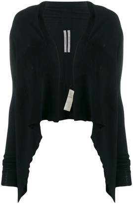 Rick Owens cropped draped cardigan