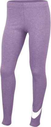 Nike Girls 7-16 Favorites Swoosh Athletic Leggings