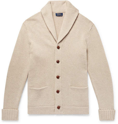 Polo Ralph Lauren Shawl-Collar Wool Cardigan