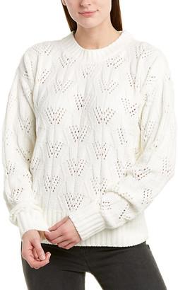 BCBGMAXAZRIA Fuzzy Pullover