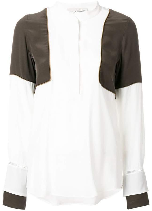Antonia Zander panelled blouse