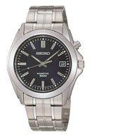 Seiko Men's SKA267 Stainless-Steel Kinetic Watch