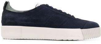 Giorgio Armani suede lace-up sneakers