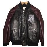 Gucci Black Leather Jackets & Coats