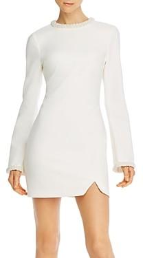 LIKELY Mabel Bead Embellished Mini Dress