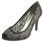 Adrianna Papell Lois Lace Peep-toe Synthetic Heels.