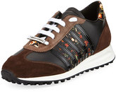 DSQUARED2 New Runner Suede Hiking Sneaker