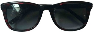 Givenchy Red Plastic Sunglasses