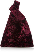 Hayward Folded Velvet Mini Shopper