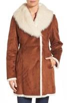 Andrew Marc Women's Faux Shearling Coat