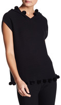 Trina Turk &Hesperia& Sleeveless Hooded Sweater