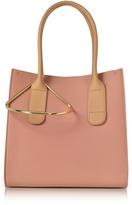 Roksanda Peach and Mastic Leather Mini Weekend Bag