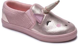 Blush B-Lush Cutee CUTEE Girls' Sneakers BLUSH - Blush Slip-On Sneaker - Girls