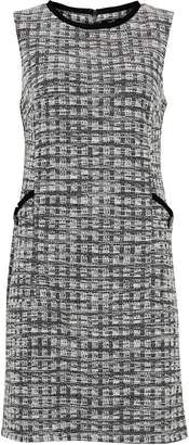 Wallis Monochrome Jacquard Check Shift Dress