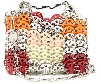 Paco Rabanne Iconic 1969 Mini Patchwork Chainmail Bag - Multi