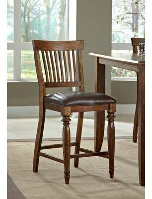 "American Heritage Delphina 25"" Bar Stool (Set of 2"
