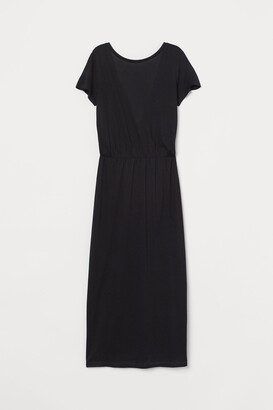 H&M V-back dress
