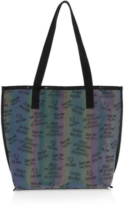 Le Sport Sac x Baron Von Fancy Reversible Slogan Tote Bag