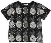 Dolce & Gabbana Pineapple Printed Cotton Jersey T-Shirt