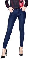 GUESS Low-Rise Power Skinny Jeans in Silicone Wash