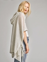 White + Warren Featherweight Cashmere Side Tie Cardigan