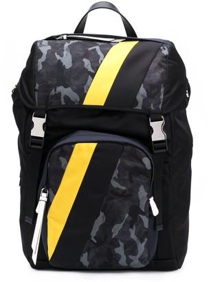 Prada Camouflage-Print Backpack