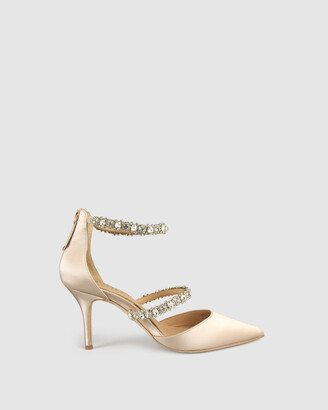 Harlo - Women's Nude Heeled Sandals - Adelaide - Size One Size, 7.5 at The Iconic