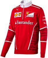 Puma Ferrari Team Half-Zip Sweatshirt