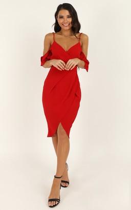 Showpo A Fair Go Dress in red - 6 (XS) Dresses