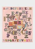 Paul Smith for The Rug Company - Pink Alphabet Blocks Needlepoint Wallhanging