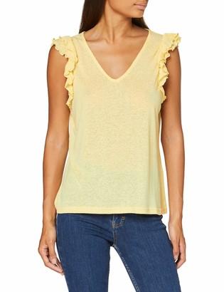 Vero Moda Women's VMOYELLA S/L TOP JRS T-Shirt