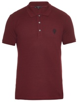 Gucci Short-sleeved Piqué Polo Shirt