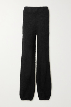 SKIMS Cozy Knit Boucle Pants - Onyx