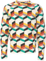 Prada all over pattern sweater