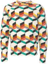 Prada all over pattern sweater